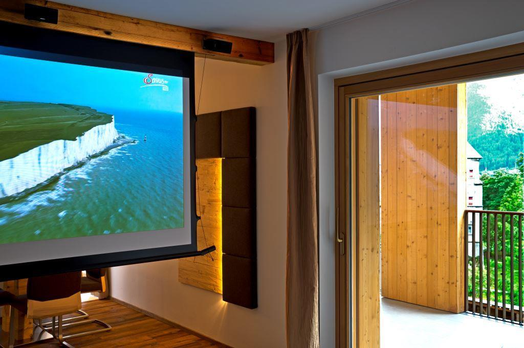 luxury-holiday-flat-Dolomites-Home-Cinema