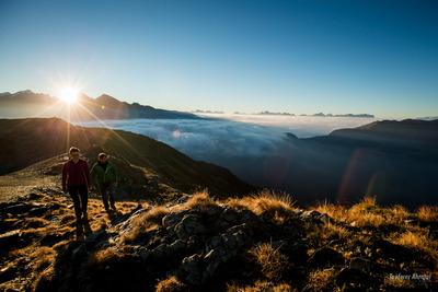 Sunrise Dolomites Italy