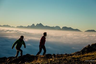 Sunrise Ahrntal Valley Dolomites