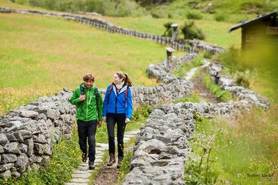 hiking dolomites Ahrntal Valley
